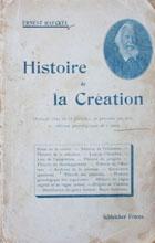 Histoire de la création des êtres organisés d'aprés les lois naturelles
