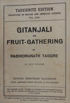 Gitanjali (song- offerings) and fruit-gathering