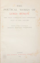 The poetical works of Lord Byron : the only complete and copyright text in one volume