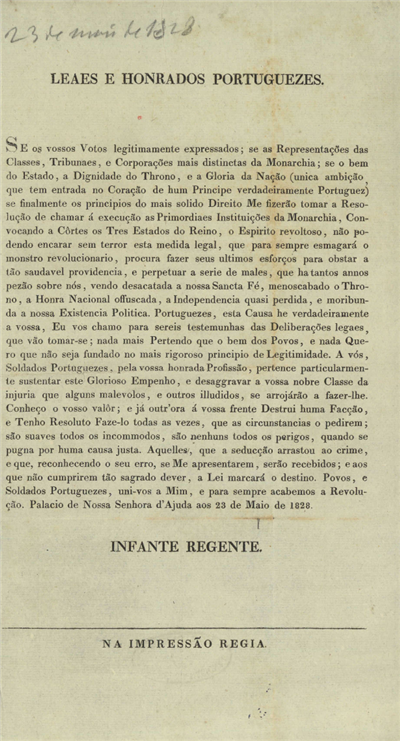 Leaes e honrados portuguezes