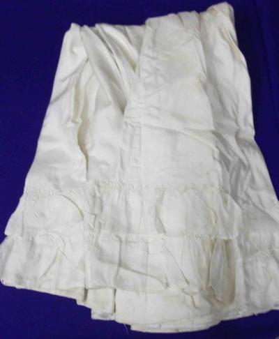 Cream Jacket and Skirt
