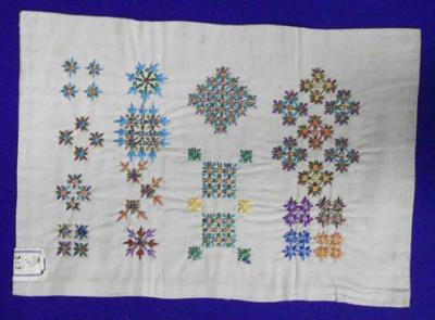 Embroidery stiching