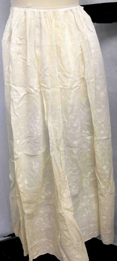 Cream petticoat