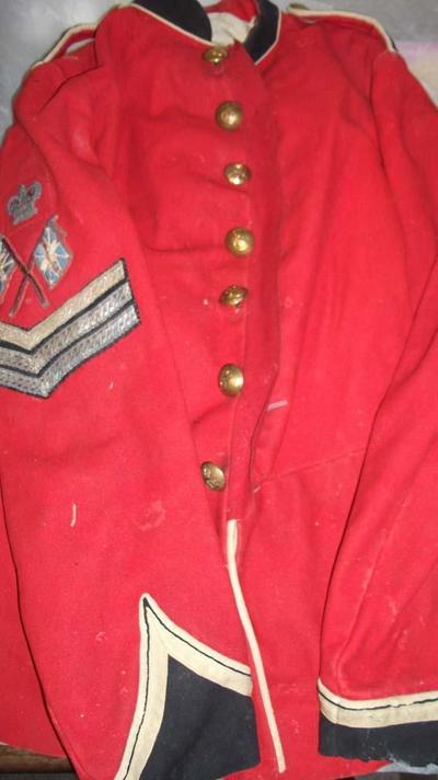 Jersey Militia uniform jacket