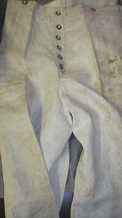 White military(?) trousers