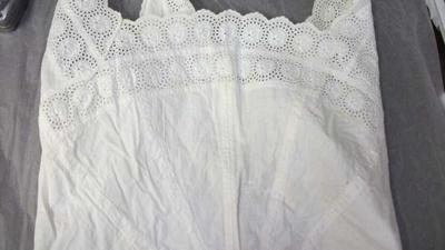 White lace bodice