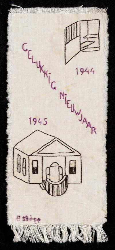 1944 Gelukkig Nieuwjaar 1945