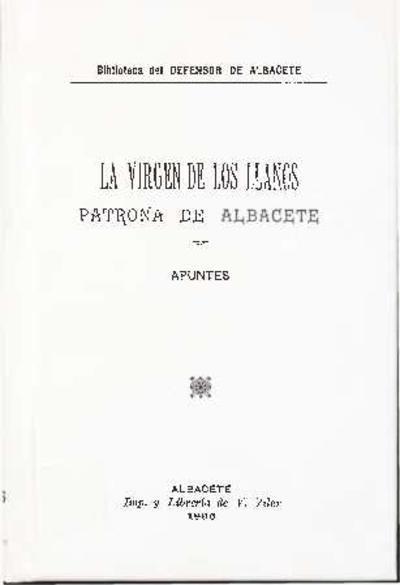 La Virgen de los Llanos, patrona de Albacete