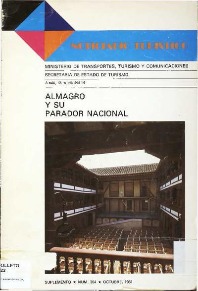 Almagro y su Parador Nacional
