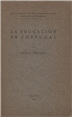 La educación en Portugal [Texto impresso] / Alicia Pestana