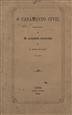 O casamento civil : resposta ao Sr. Alexandre Herculano / António da Costa