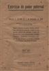 Exercício do poder paternal [Texto impresso] : decreto nº 18:996 de l de Novembro de 1930
