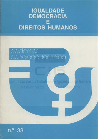 Actas [Texto impresso] / Seminário Igualdade, democracia e direitos humanos