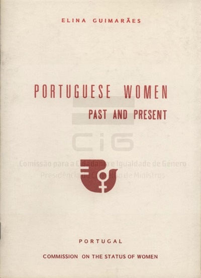 Portuguese women past and present [Texto impresso] / Elina Guimarães