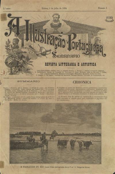 A Illustração Portugueza [Texto impresso] : Semanário: Revista Litteraria e Artistica