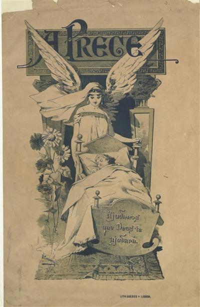 A prece : Jornal publicado em beneficio das Crèches de Lisboa