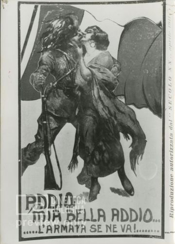 Giovanni Luigi Giannini. Addio mia bella addio...l'armata se ne va. 1915