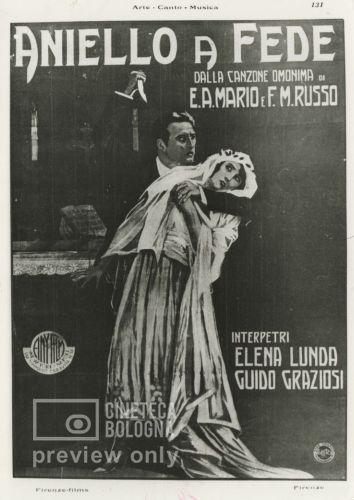 Ubaldo Maria Del Colle. Aniello a fede (L'anello di nozze). 1923