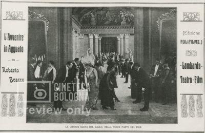 Giulio Antamoro. L' avvenire in agguato. 1916