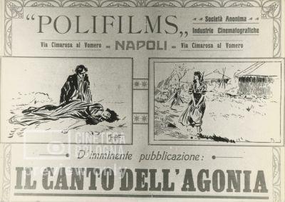 Giulio Antamoro. Il canto dell'agonia. 1916