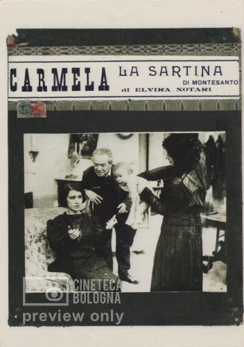 Elvira Notari. Carmela, la sartina di Montesanto. 1916