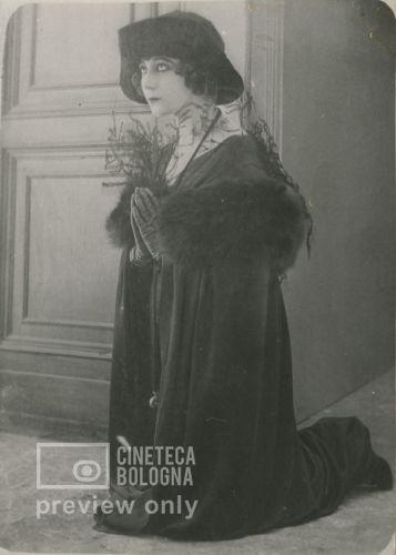 Giulio Antamoro. Leda senza cigno. 1918