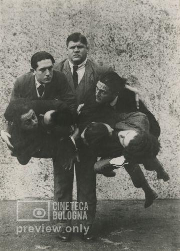 Ubaldo Maria del Colle. Il pugno del gigante. 1921