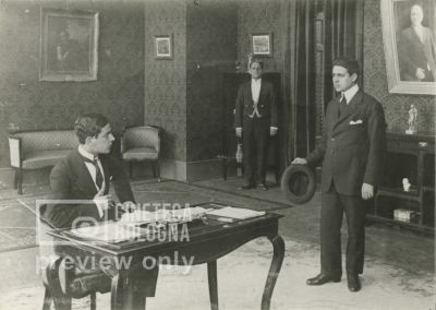 Giulio Antamoro. La rivincita del passato. 1915