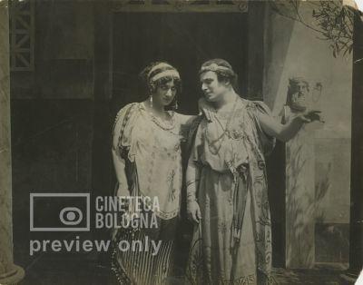 Eleuterio Rodolfi. Gli ultimi giorni di Pompei. 1913