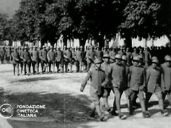 [Cerimonia militare] [Archive title]