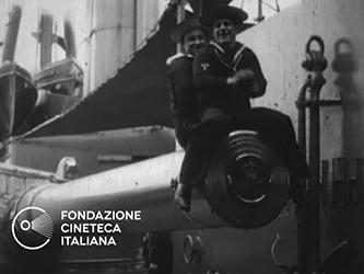 [Inaugurazione della corazzata Nuova Zelanda] [Archive title]