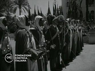 [Visita del Re Vittorio Emanuele a Tripoli] [Archive title]