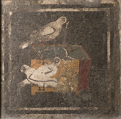 emblema a mosaico