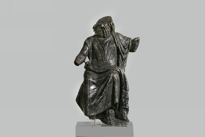 statuetta maschile votiva