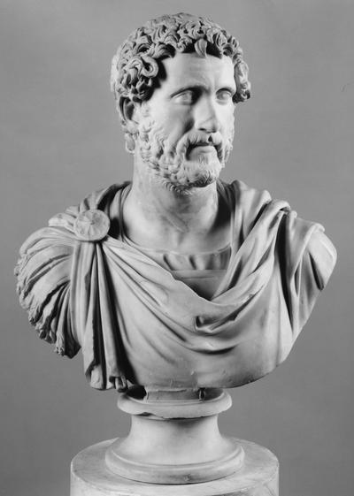 busto maschile loricato