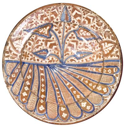 baccellature/ motivi decorativi a foglie lanceolate