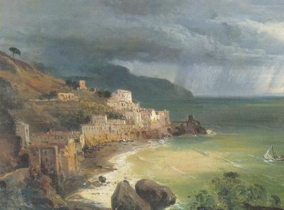 Tempesta sul golfo di Amalfi