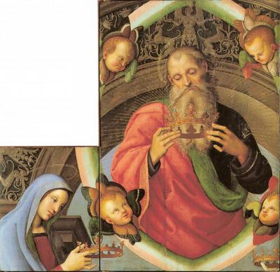 Eterno Padre e la Vergine