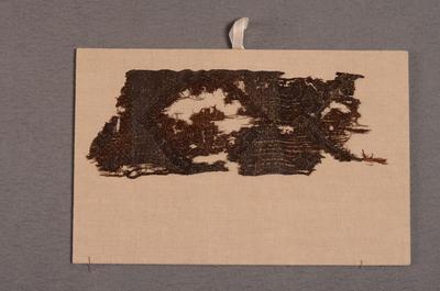 Fragmenten van de versiering van een bisschopskleed