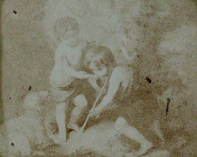 Bartolomé Esteban Murillo. Our Lord and St. John Baptist. Known as the Children of the Shell