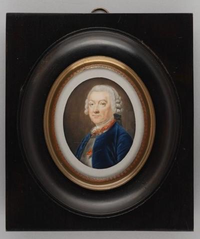 Portretminiatuur van Johan François graaf van Hogendorp