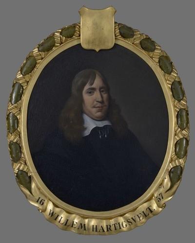 Portret van Willem Hartigsvelt (?-1664)