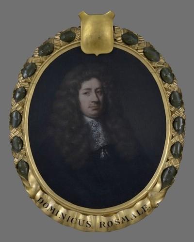 Portret van Dominicus Roosmale (Roosmalen) (?-1689)