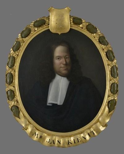 Portret van Johan Kievit (ca. 1637?-1692)
