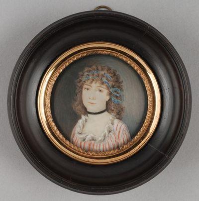 Portretminiatuur van Magdalena Sara Maria Boonen (1801-1825)