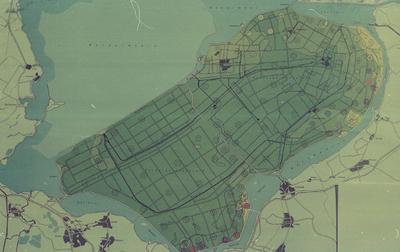Oostelijk en Zuidelijk Flevoland. Bodemkaart.