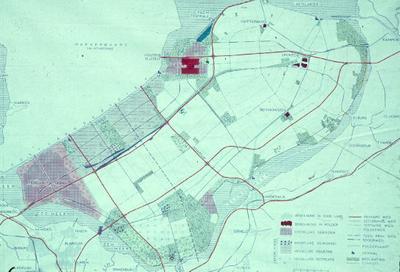 Oostelijk en Zuidelijk Flevoland. Inpolderingsplan.