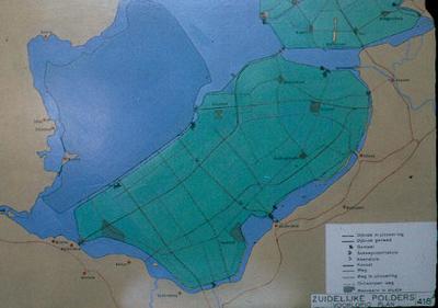 Oostelijk en Zuidelijk Flevoland. Voorlopig plan.