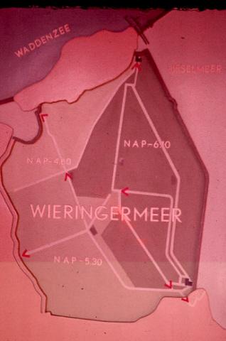 Afsluitdijk: Den Oever. Paneel.