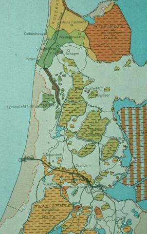 Inpolderingen Noord-Holland.